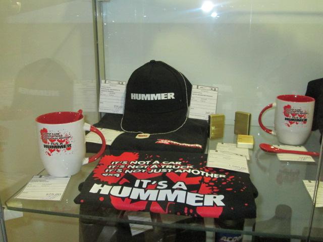 брендовые сувениры HUMMER